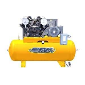 HP 80 Gallon 1PH Horizontal 2 Stage Stationary Air Compressor Tools