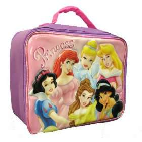 Disney Princess Girls Insulated Lunchbox Lunch Bag Tote   6 Princesses