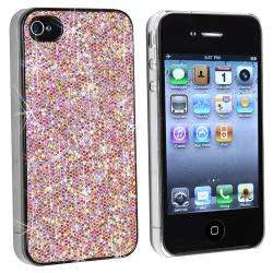 Light Pink Bling Case for Apple iPhone 4