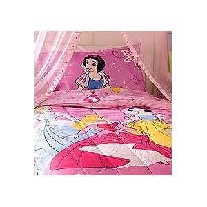 DISNEY PRINCESS   Dance & Romance   Twin/Single Size Girls Bedding