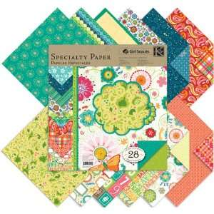 Girl Scouts Double Sided Specialty Paper Pad 12X1 [Office