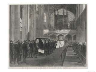 Prince Albert Consort to Queen Victoria Funeral Procession St.Georges