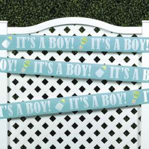 Plastic It's A Boy! Decoration Tape Baby shower