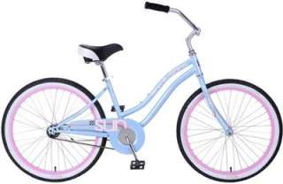 Sun Bicycles Revolutions CB 24 Ladies Cruiser   16   Sky Blue   NEW