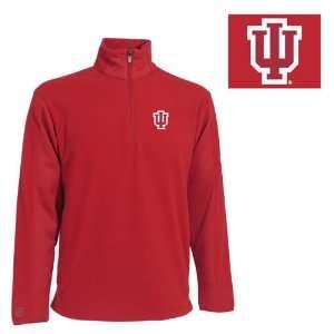 Indiana Hoosiers Jacket   NCAA Antigua Mens Frost Polar