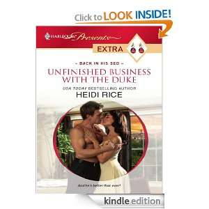 Unfinished Business with the Duke (Harlequin Presents Extra) Heidi