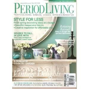 Period Living Magazine (UK) (March 2012) Various Books