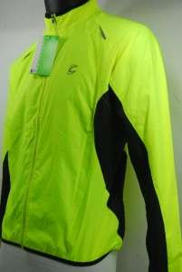 Cannondale Mens Pack Me Jacket   Large   Lime   1M302L/HVI