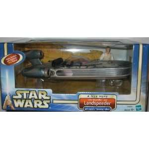 BN2 STAR WARS LUKE SKYWALKER AND LANDSPEEDER MIB