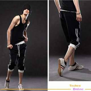 NWT Mens casual sporty capri pants shorts X XXL Hiphop