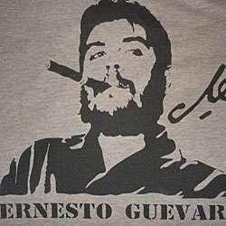 Retrofutura Womens Short Sleeve Che Cigar T shirt