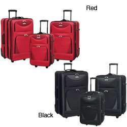 Travelers Club Skyview 3 piece Luggage Set