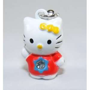 Hello Kitty Strap, Charm or Keychain, a Set of 2 Pieces