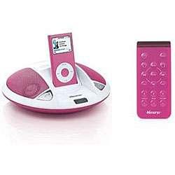 Memorex MI1003 Pink Speaker System for iPod