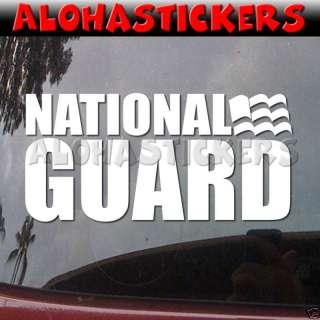 ARMY NATIONAL GUARD Vinyl Decal Car Truck Sticker ML65