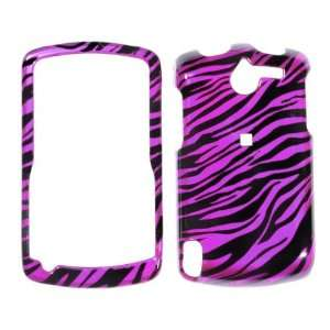Premium   HP iPAQ Transparent Black  Hot Pink Zebra Skin