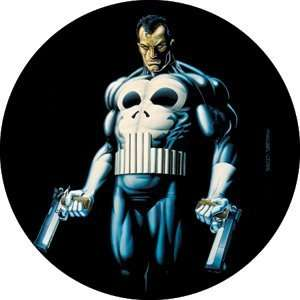 Marvel Comics The Punisher Comic Book Button B 1765 Toys & Games