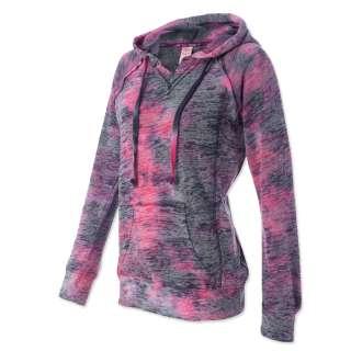 Weatherproof Ladies Courtney V Notch Hooded Sweatshirt Womens Hoodie S