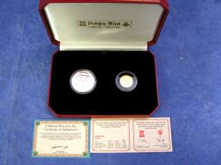Princess Diana Wedding 1981 Gold Silver Proof Coin Set