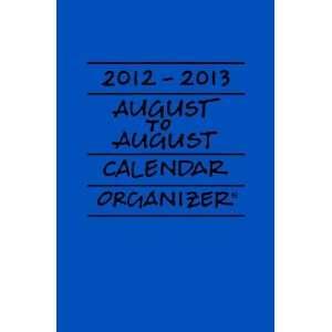 2012 2013 August to August Calendar/Organizer Lapis
