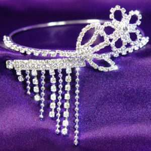 Bridal Flower Crystal Upper Arm Bracelet / Armlet A005