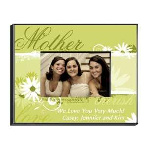Personalized Mother Delicate Daisy Frame
