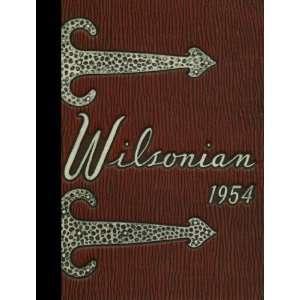 (Reprint) 1954 Yearbook Wilson High School, West Lawn