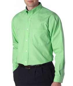 NWT NEW MENS LS LONG SLEEVE COTTON DRESS SHIRT 2XL 3XL