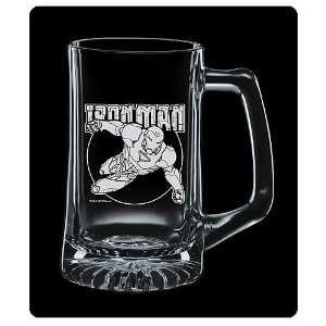 Marvel Iron Man Premium Etched Glass Stein