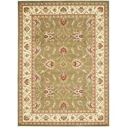 Lyndhurst Traditions Green/ Ivory Rug (9 x 12)