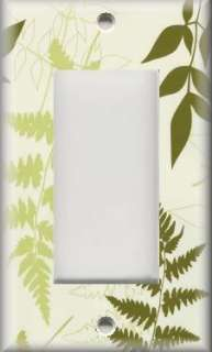 Cover   Wall Decor   Contemporary Floral   Green Fern Leaves