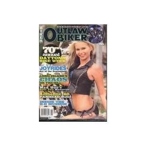 Outlaw Biker Magazine #185: Casey Exton: Books