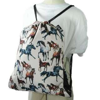 Wildkin Horse Dreams Back Sack Bags