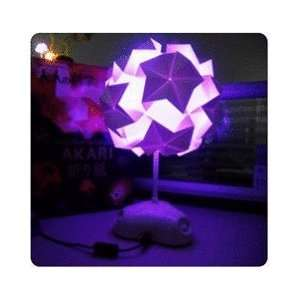 Paper Lantern Japanese Origami Night Lamp: Home