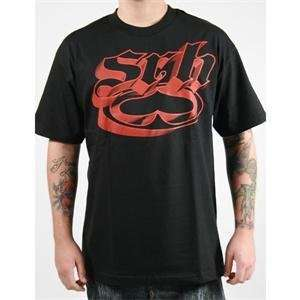 SRH High Life T Shirt   X Large/Black/Red Automotive