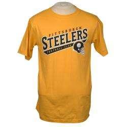 Reebok Pittsburgh Steelers Yellow Team T shirt