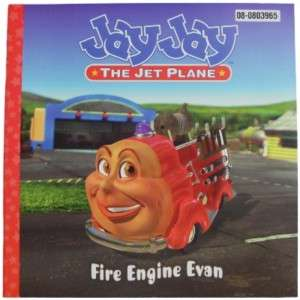 NEW JAYJAY Jay Jay The Jet Plane Fire Engine Evan Book |