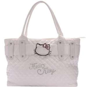 Hello Kitty Handbag Tote Shoulder Hand Bag White  Toys & Games