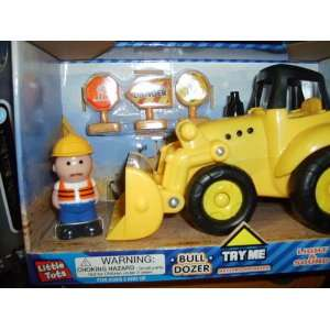 Little Tots Bull Dozer: Toys & Games