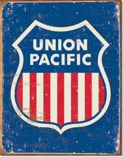 Metal Sign   Union Pacific Railroad