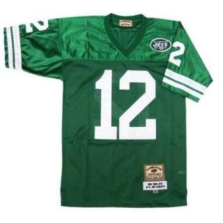 Joe Namath #12 New York Jets Green Sewn Throwback Mens Size Jersey