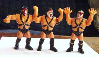Rare WWF/WWE Demolition 1990 Hasbro Action Figures