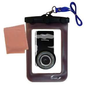 Clean n Dry Waterproof Camera Case for the Panasonic HM TA1H Digital