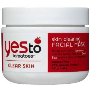 To Tomatoes Clear Skin Clearing Facial Mask Skincare Treatment Beauty