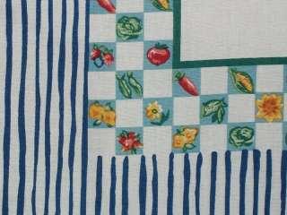 Baby Cotton Quilt Top Nursery Bear Flower Print