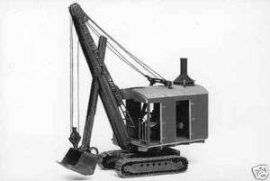 303 Erie B 2 Steam Shovel HO Plastic Kit super