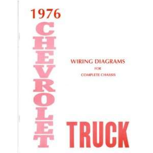 1976 CHEVROLET TRUCK Wiring Diagrams Schematics