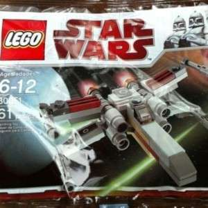 Star Wars Lego Mini X Wing Fighter Starfighter 30051