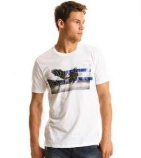 Armani Exchange Eagle Photo T Shirt White NWT