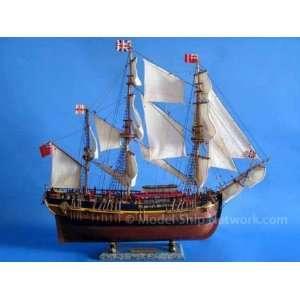 Ship Model Wooden Replica Home Nautical Decor Not a Model Kit: Home